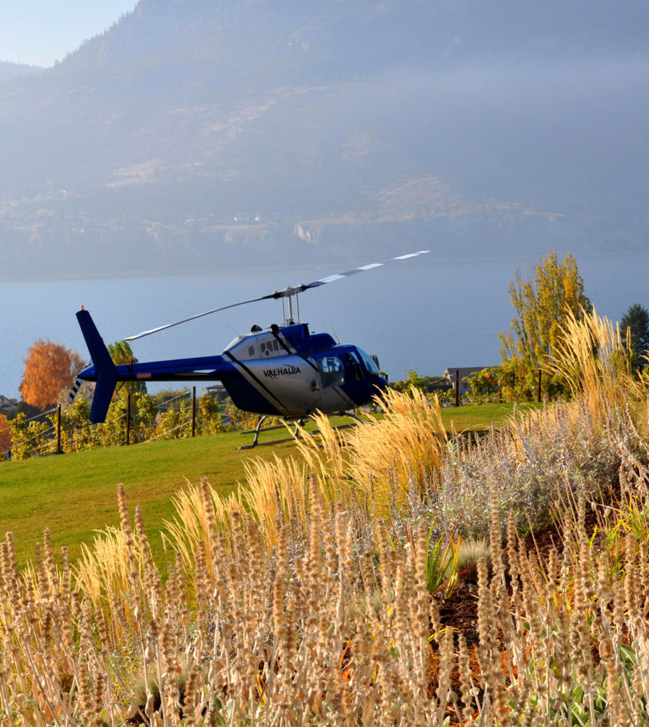 Scenic Helicopter Tours of Kelowna & Okanagan Valley