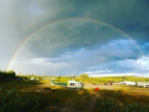 Valhalla Helicopter with Rainbow