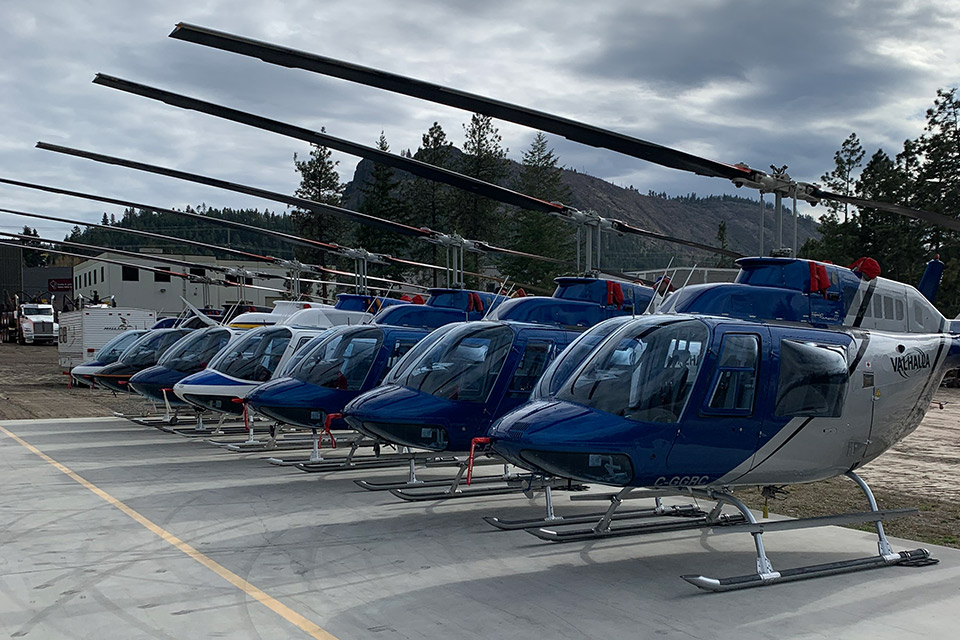 Our Helicopter Fleet