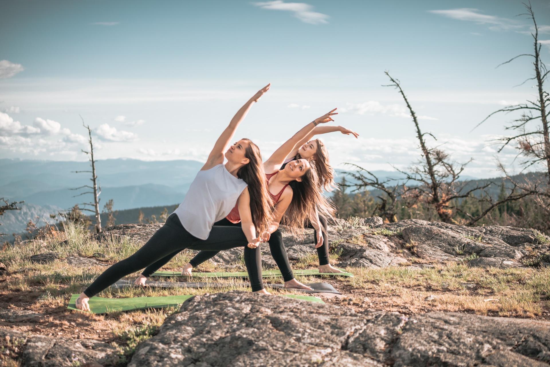 Yoga Takes Flight in the Okanagan